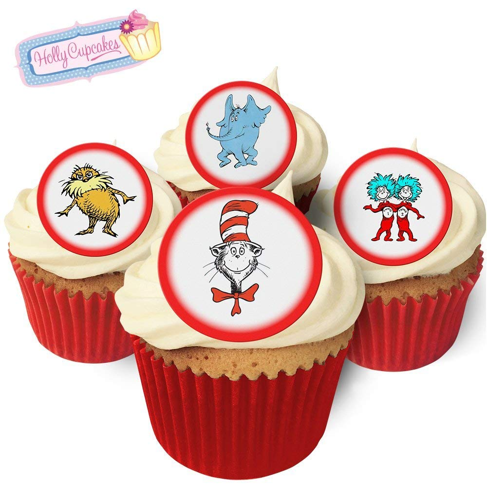 12 I Love Boxers Cupcake Decoration Edible Cake Toppers Pre Cut 40mm