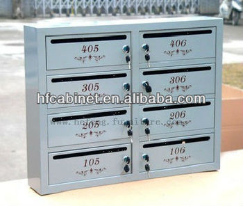 Residential Mailbox/apartment Postbox - Buy Apartment Postbox,Outdoor  Mailboxes For Apartments,Mailbox Post Design Metal Product on Alibaba.com