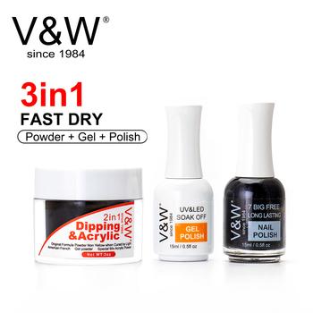 French White Dipping Powder No Lamp Cure Nails Dip Powder