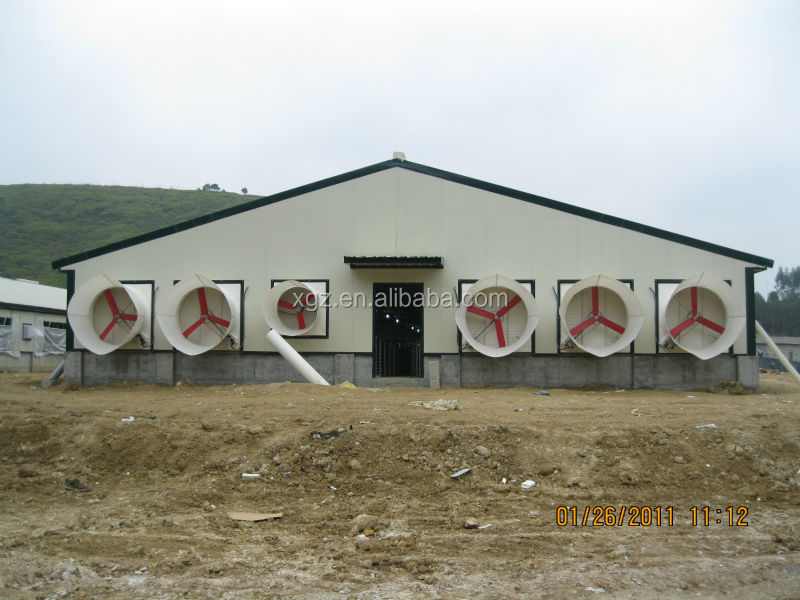 low price high quality prefab pigs house