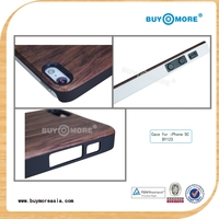 most popular design 2014 wood case for computer for iphone 5s