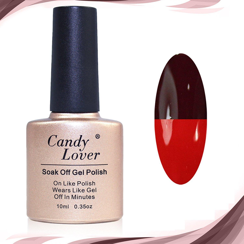 Candy Lover Color Changing Nail Polish Soak Off Gel Polish UV LED Nail Art 10ml #78