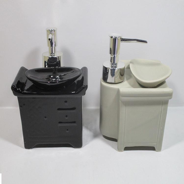liquid product bathroom chrome dispensers soap double shampoo and dispenser