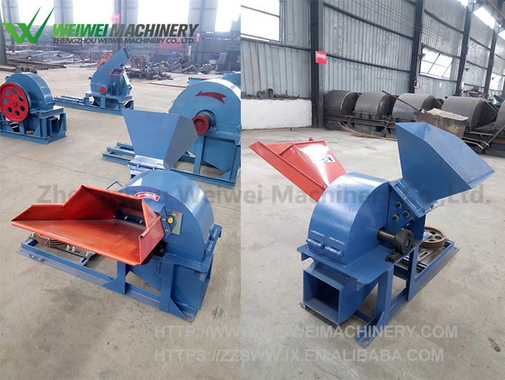 WEIWEI industrial multifunctional waste wood crusher hammer mill grinder branch straw cob