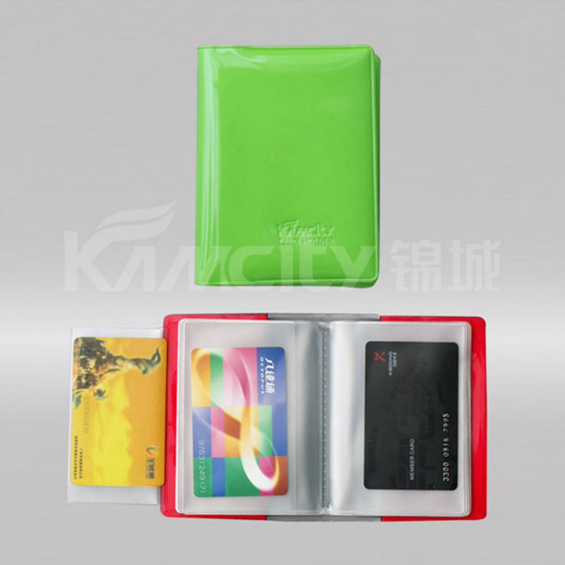 New Design PVC Card Wallet or Card Case
