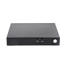 VGA Port Fanless Well Shaped Metal Case Desktop Computer J2900