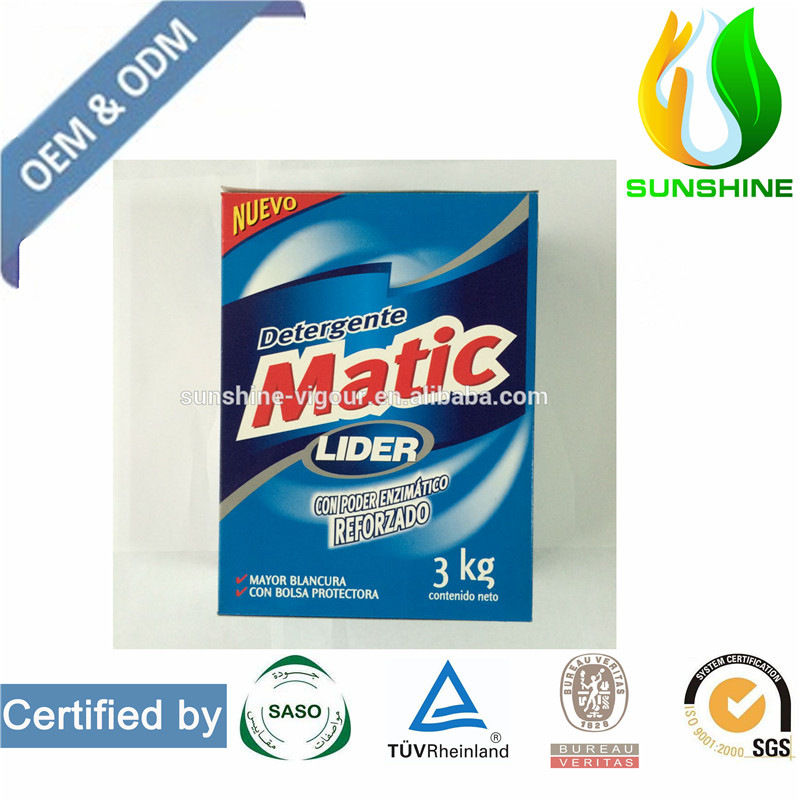 Laundry Detergent Powder in Carton Wahsing Powder