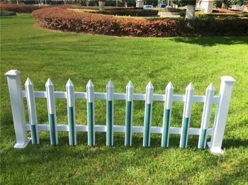White Pvc Fencing Recycled Plastic Fence Posts On Sale