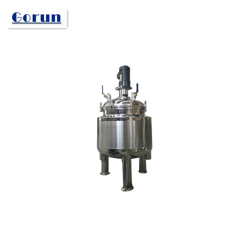 SS316 Chemical Blender Reactor Stainless Steel Mixing Tank 1000L