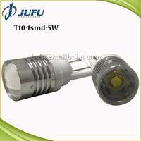 T10 1smd 5W LG 3535 LED auto lamp universal side marker light T10 light bulb