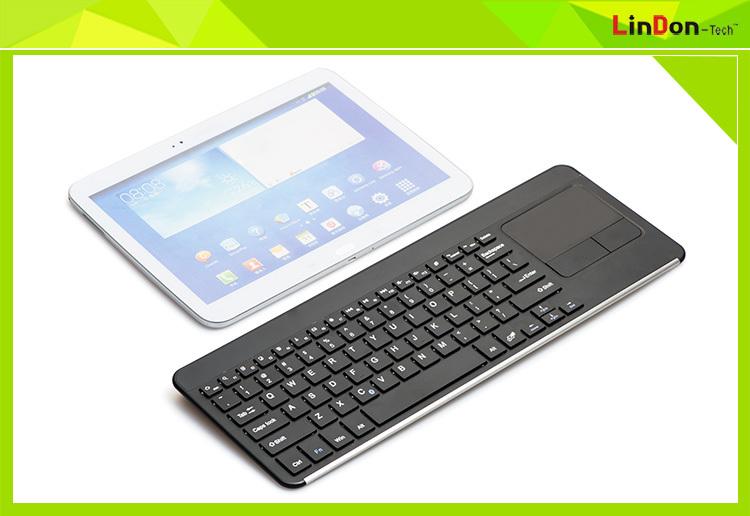 Wireless Bluetooth Touchpad Keyboard For Smart Tv,Mini Wireless ...