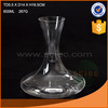 Good quality clear glass wine decanter made in China