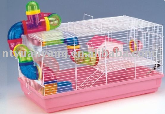 acrylic China Supplier wire pet cage hamster cage