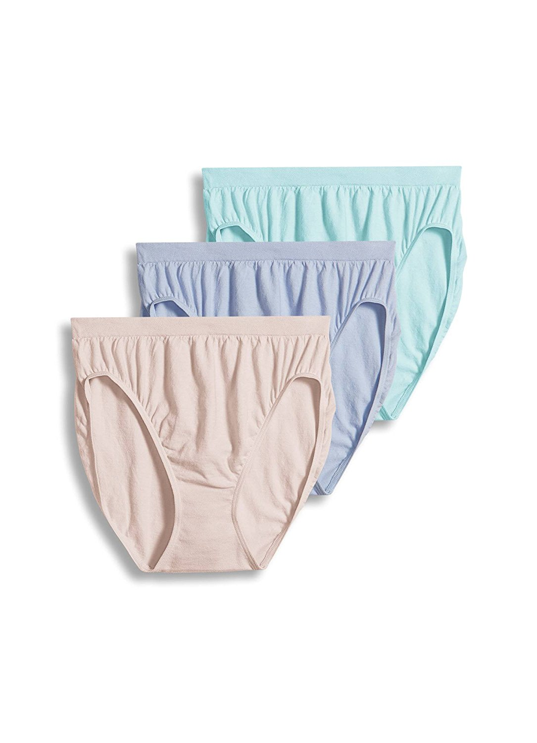 936c384a2f21 Get Quotations · Jockey Women's Underwear Comfies Cotton French Cut - 3 Pack
