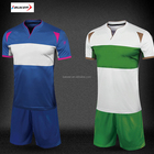 Wholesale team brand kids soccer kits , new model youth football uniform