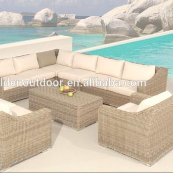 Pe Rattan Waterproof Outdoor Furniture