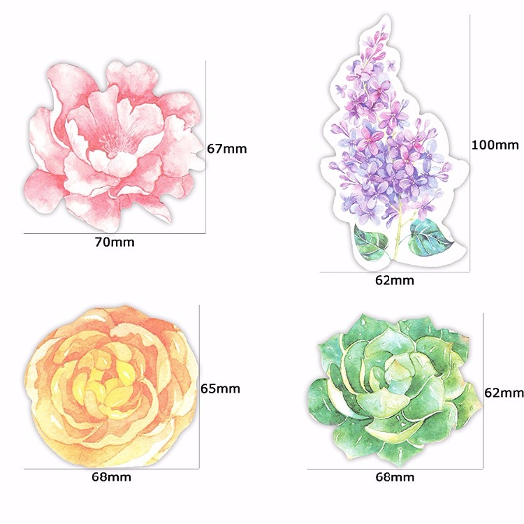 Nieuwe Bloem Stripfiguren Sticker Bookmark Memoblokjes Mark Plan