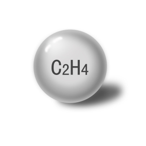 Ethylene, C2H4 gas 99.9-99.99%