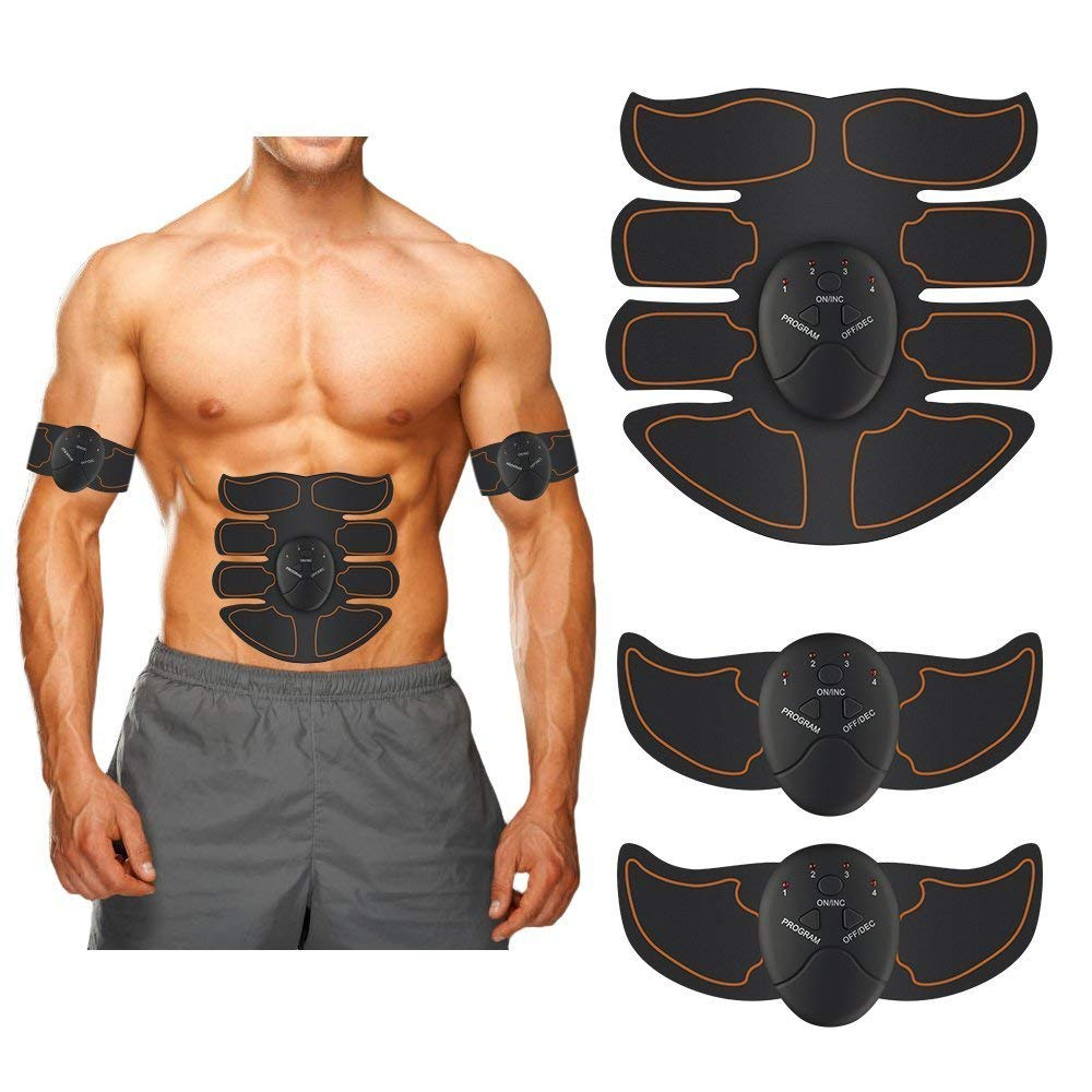 1832263f3e Get Quotations · Kaboll Muscle Trainer Wireless Portable Unisex Fitness  Training Gear Abdominal Toning Belt Body Muscle Toner to