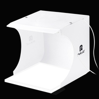 PULUZ Mini LED Photography Shadowless Light Lamp Panel Pad + Studio Shooting Tent Box