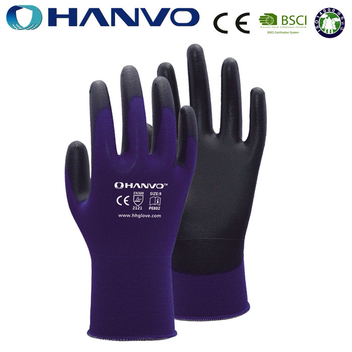 HANVO Blue Nylon Electronic Touch Screen SmartPhone Glove