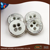 designer 4 holes special plated metal button for shirt