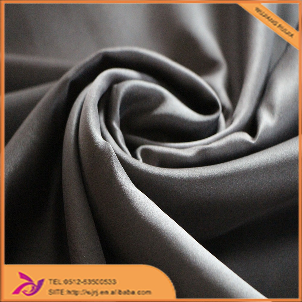 100% Polyester high quality hot matt stretch satin fabric