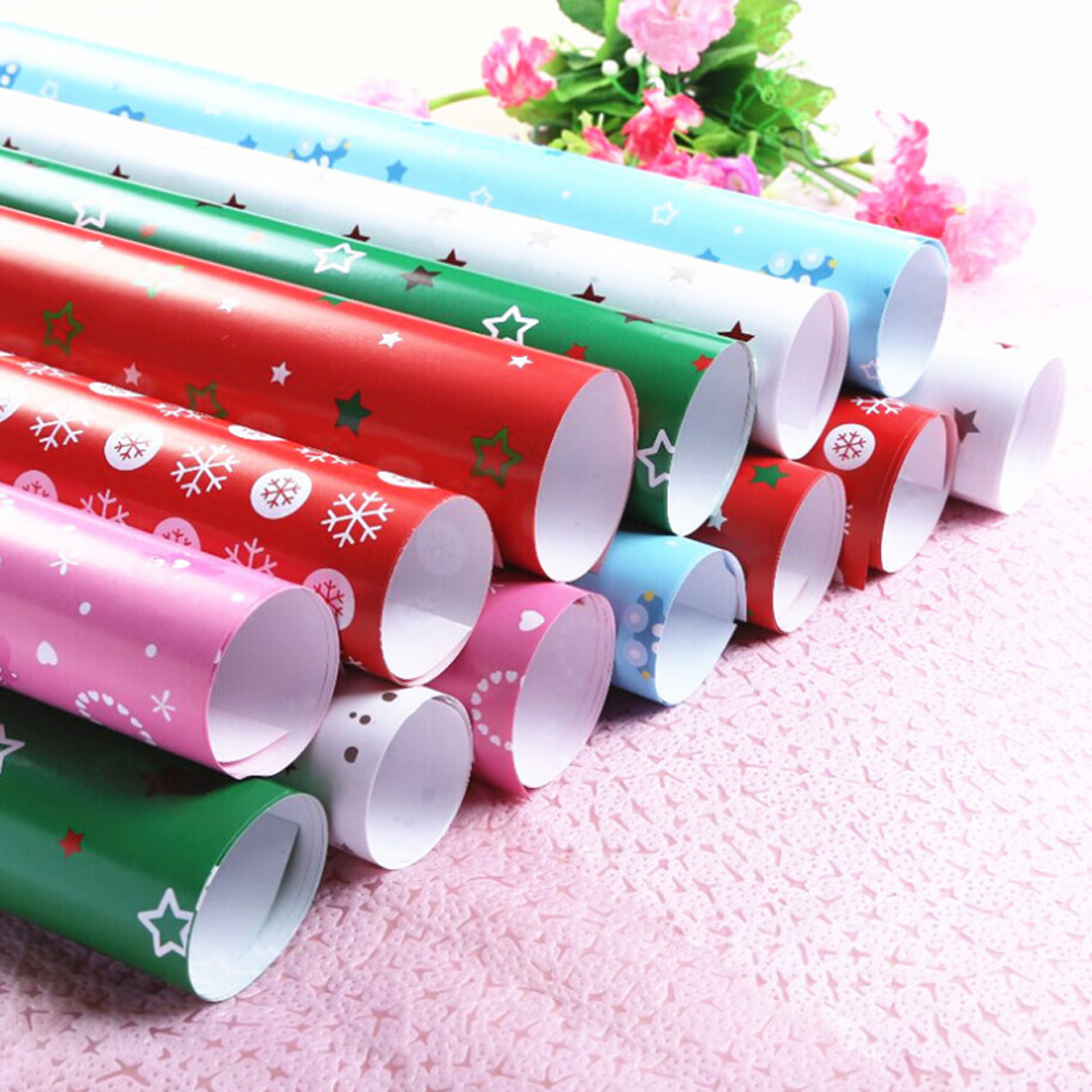 Wholesale Christmas decoration gift packing stationery wrapping paper