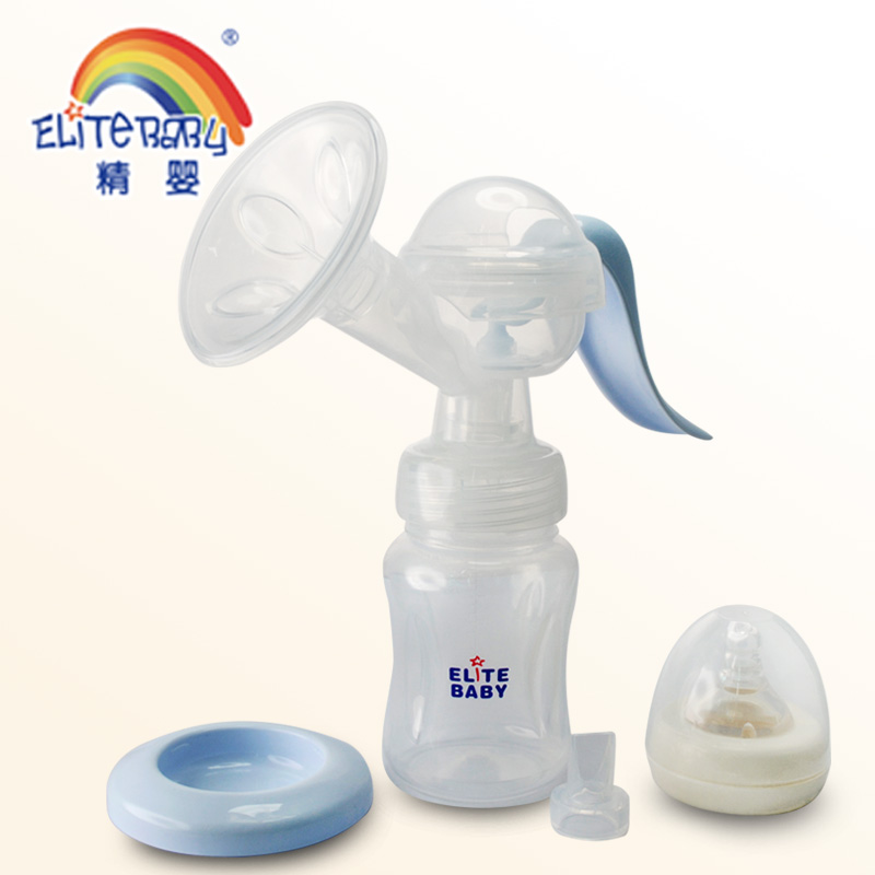 2017 wholesale Baby Feeding Products FDA approval portable Soft manual silicone breast pump