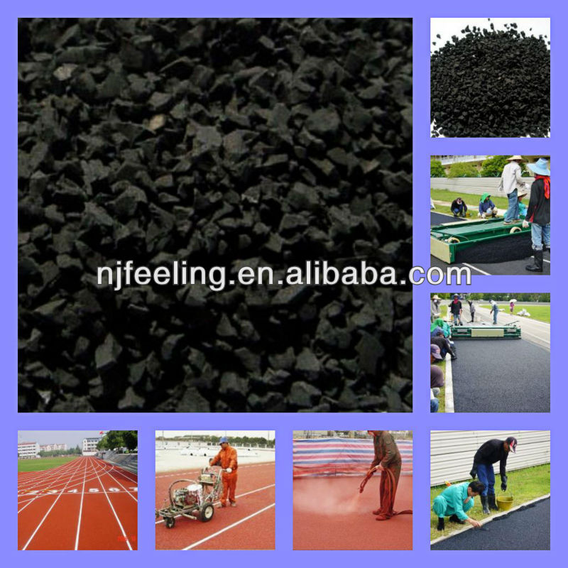 rubber flooring for exterior playground/Recycled Rubber (alibaba china)-G-I-005