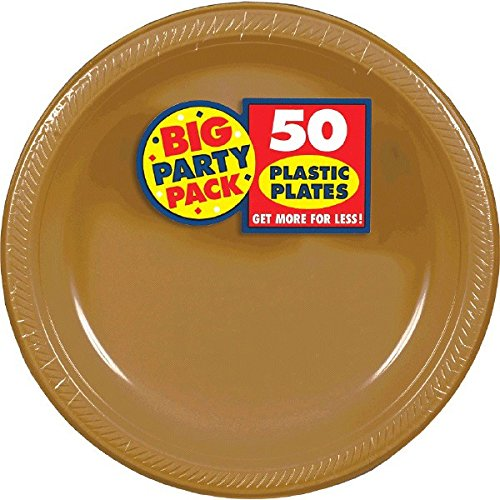 ... Amscan Big Party Pack 50 Count Plastic Dessert Plates 7-Inch Gold  sc 1 st  Alibaba & Cheap Gold Plastic Plates find Gold Plastic Plates deals on line at ...