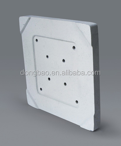 Abrasion and high temperature resistance nitride bonded silicon carbide bricks