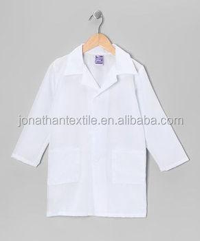 100% Cotton Kids Lab Coat,Children Lab Coat - Buy Kids 100 Cotton ...