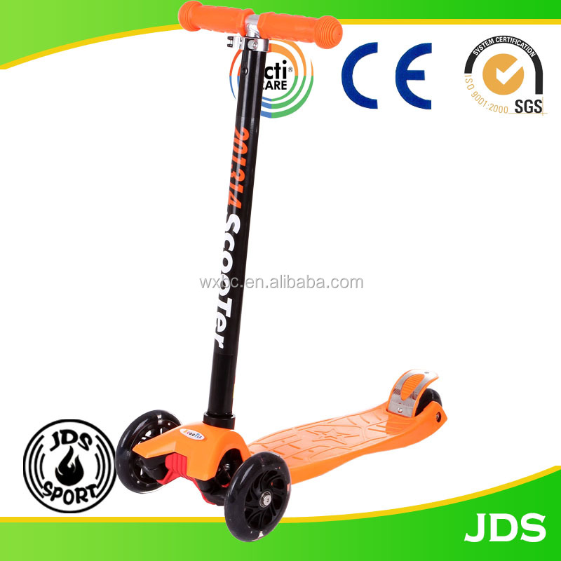 China supplier kids big wheels scooter mini kick scooter for sale