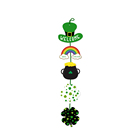 YISHU Happy St Patricks Day Party Hanging Welcome Sign Decoration