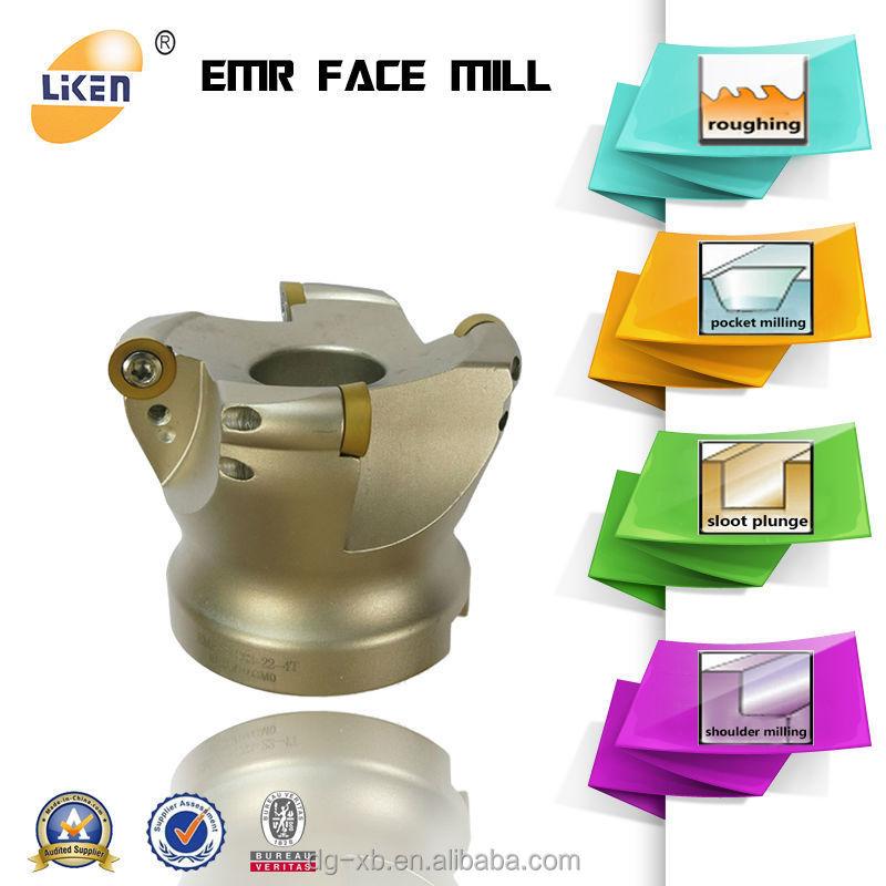 Liken Professional Carbide Face Mill Cutting Tools Manufacturer ...