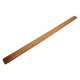 Customized Brown Color Rubber Wooden Teaching Ruler For School