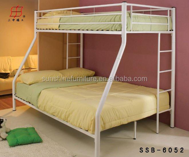 Fuerte moderna cama literas metalicas acero cama litera para adultos camas de metal - Literas para adultos ...
