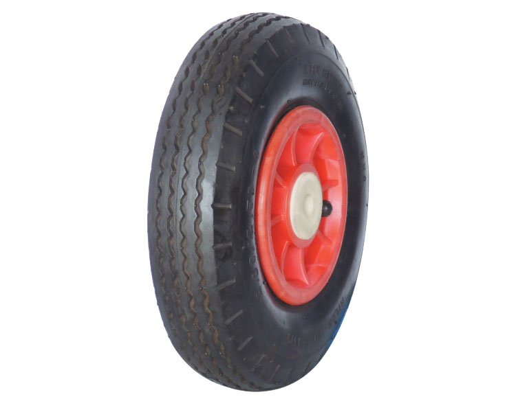 "Hand Trolley Wheel 8""x2.50-4 PR0806,WHEEL,8 Inch rubber wheel"