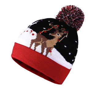 1a1cd18e4 HZM-18009014 2018 small order Accept Knitted long soft funny christmas  boxes wholesale custom nfl