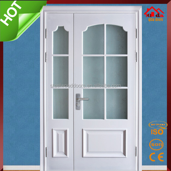 Type Of Room Wood Glass Interior Double Door