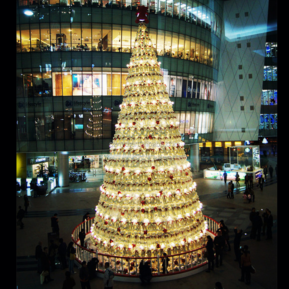 New Design Outdoor Giant Led Christmas Tree Ornaments Mall ...