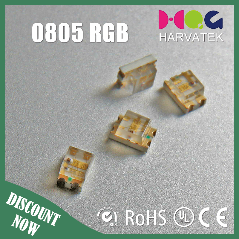 Best price 20mA surface mount 1206 0603 0402 0805 rgb led