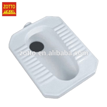 New style custom sizes ceramic wc toilet squat bathroom squatting pan without trapway