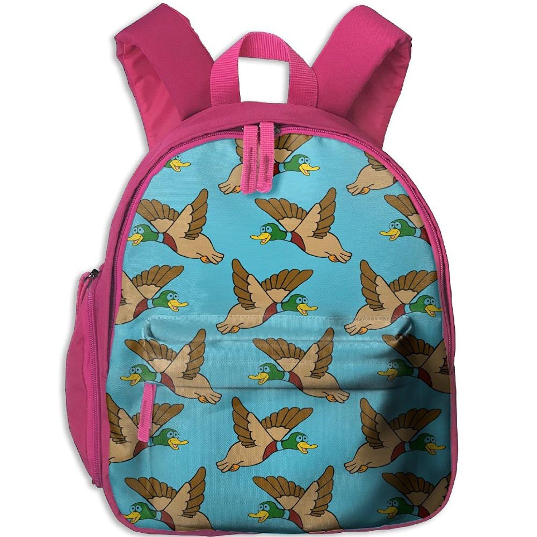 Get Quotations · Flying Mallard Ducks Toddler Kids Backpack Preschool  Backpack Navy Mini Backpack 2987b3cb68