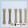 natural color rawhide dog pressed bone dog chew bone