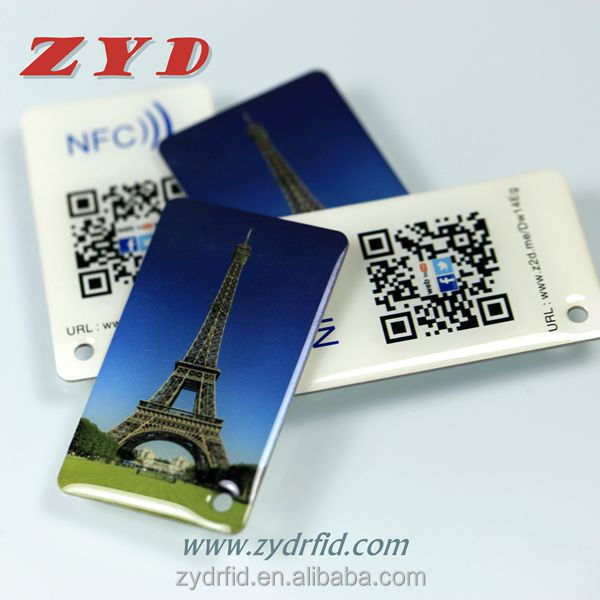 Factory price 13.56Mhz plastic rfid epoxy tags