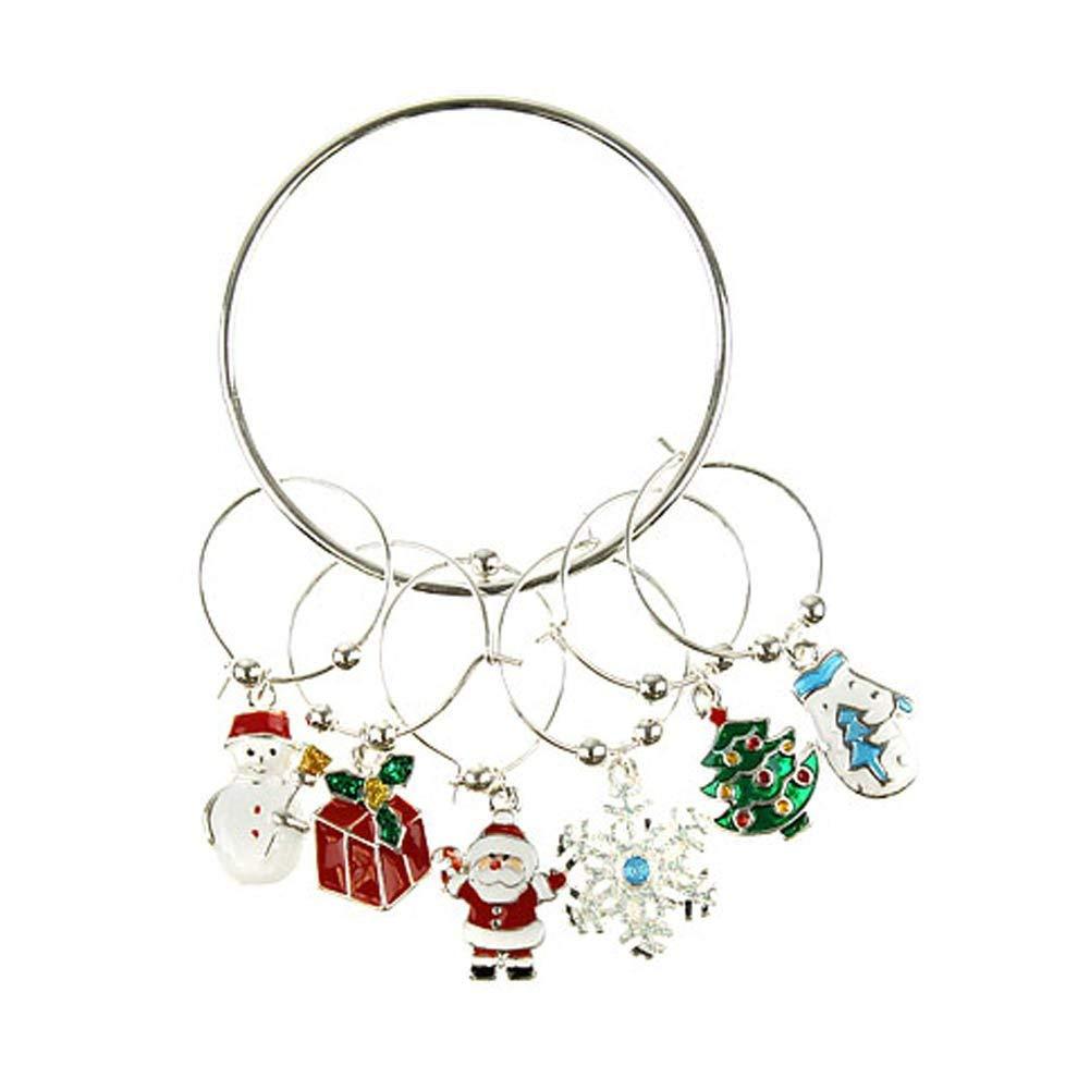 Home & Garden Wholesale Alloy Metal Santa Sleigh Charms Enamel Christmas Floating Locket Charms For Glass Locket Hot Sale 20pcs!