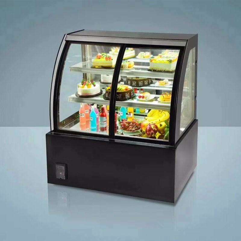 Front Window Glass Sliding Door Cake Cooler Desserts Refrigerator Buy Front Sliding Door Display Cabinet Fridgeglass Door Mini Refrigeratordrink