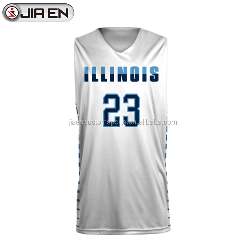 Neueste coole Basketball Trikot Designs billig Basketball Uniform Set